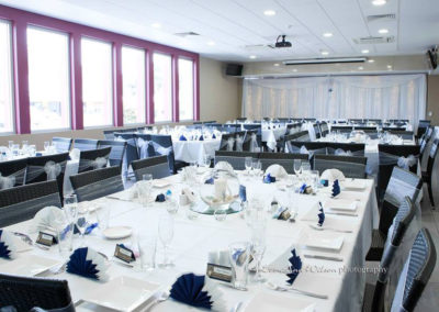 Elegant wedding in the private function room