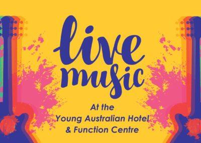 Live Music Entertainment – Saturday Night