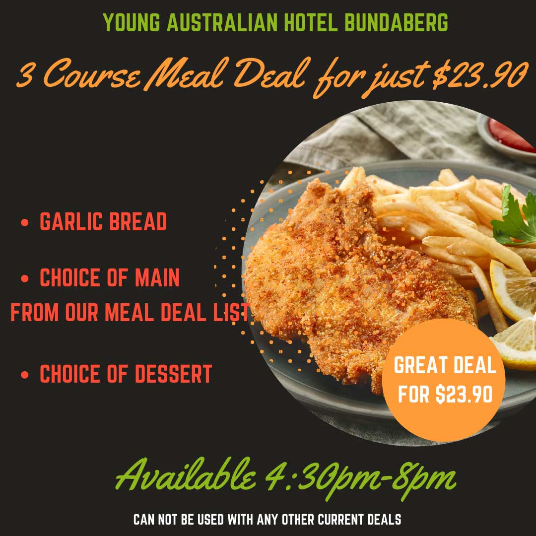 3 Course Meal Deal