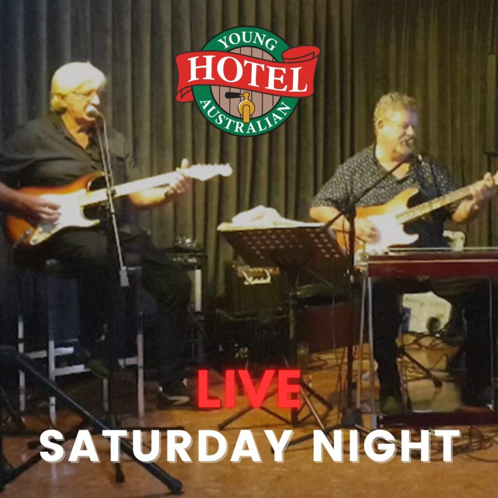 2 Shades of Grey playing at the Young Australian Hotel Bundaberg
