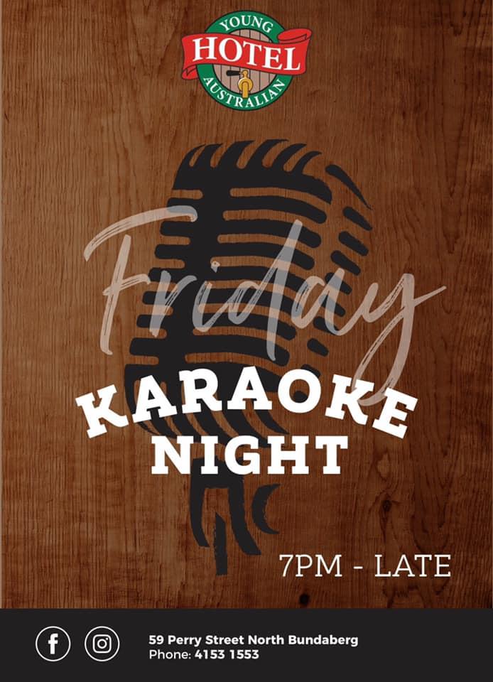 Karaoke Night - Young Australian Hotel