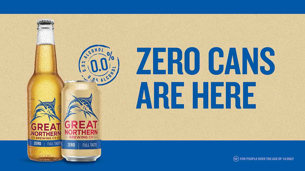 Great Northern Zero - Tastes like real beer Looks like real beer For the times that real beer isn't an option