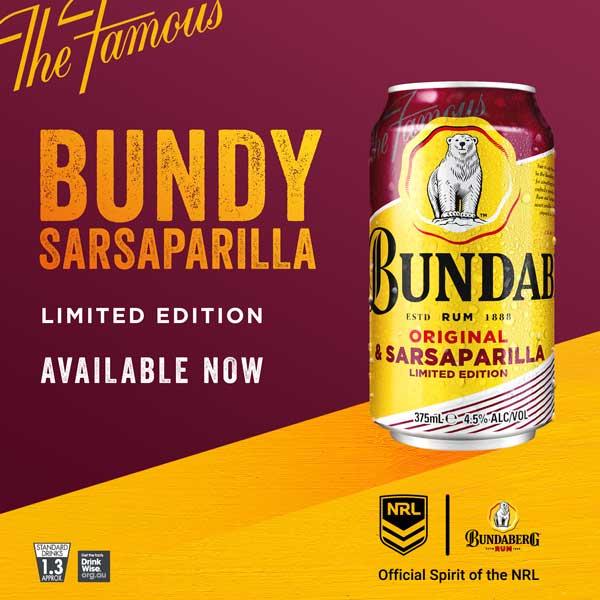 Bundy Sarsaparilla on sale at the Young Australian Hotel Bundaberg