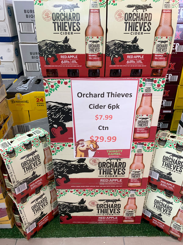 Orchard of Thieves Special - While Stocks Last
